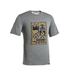 M T-Shirt NH500 CN Grey