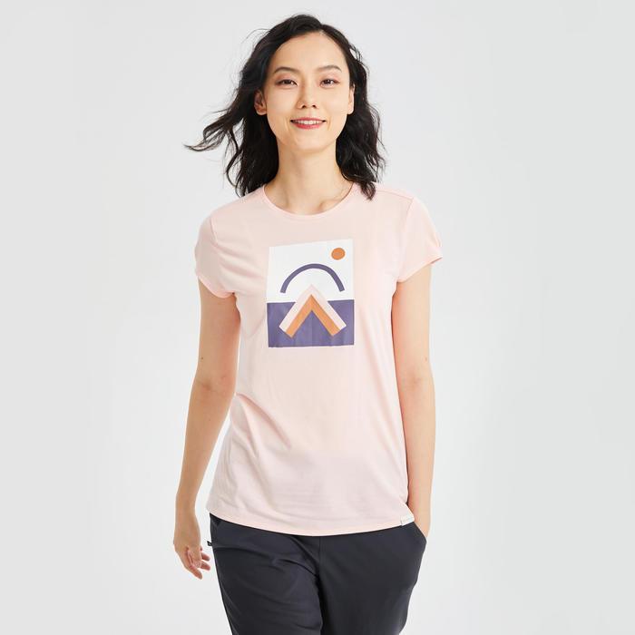 W T-Shirt NH500 CN - Pink