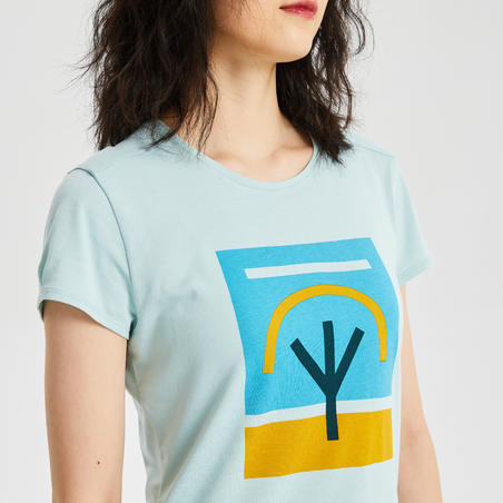 W T-Shirt NH500 CN Green
