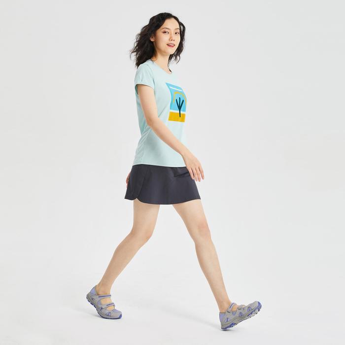女款T恤NH500-綠色