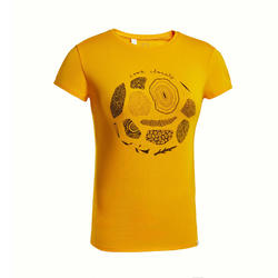 W T-Shirt NH500 CN - Yellow
