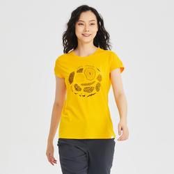 女款T恤 NH500-黃色
