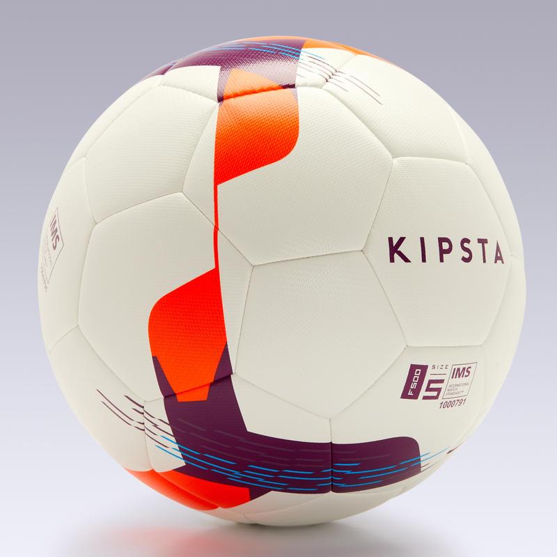 ลูกฟุตบอลไฮบริดขนาด 5 รุ่น F500 (สีขาว)
