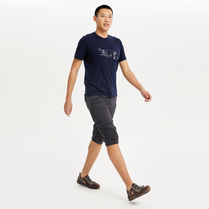 男款T恤NH500-藍色