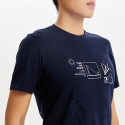 M T-Shirt NH500 CN Blue