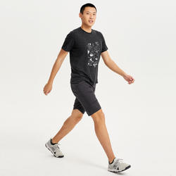 男款T恤NH500-黑色