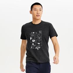 M T-Shirt NH500 CN Black