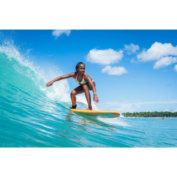 TRIANGELTOP VOOR SURFBIKINI MEISJES BONDI 500 TURQUOISE
