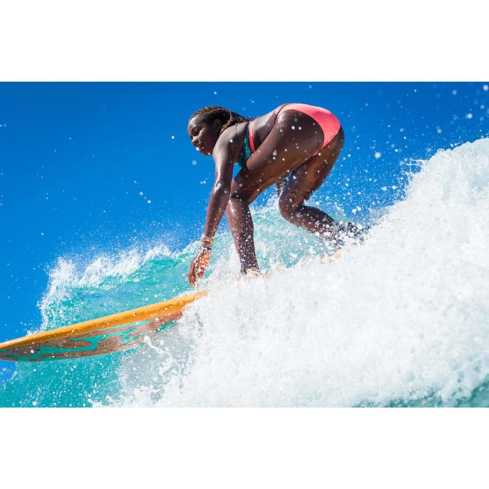 CUECA DE BIKINI SURF MENINA CORAL MAEVA 500