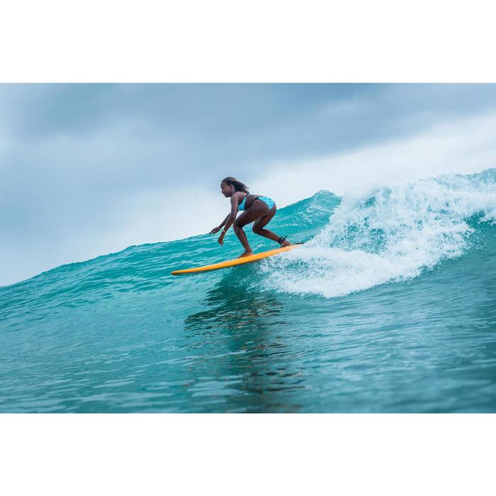 Cueca de Bikini de Surf MALOU 500 Menina Turquesa