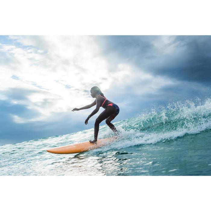 Cueca de Bikini de Surf MALOU 500 Menina Azul