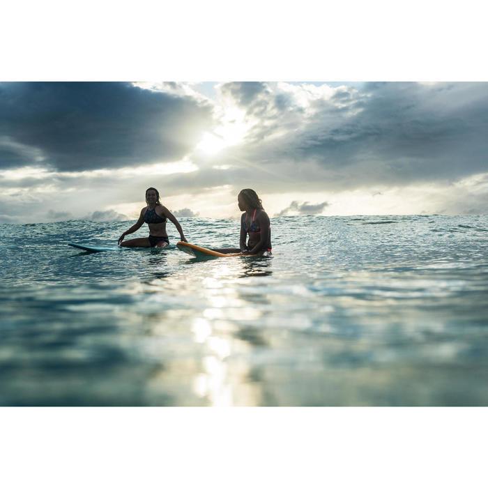 CULOTTE DE MAILLOT DE BAIN SURF FILLE BLEU MALOU 500