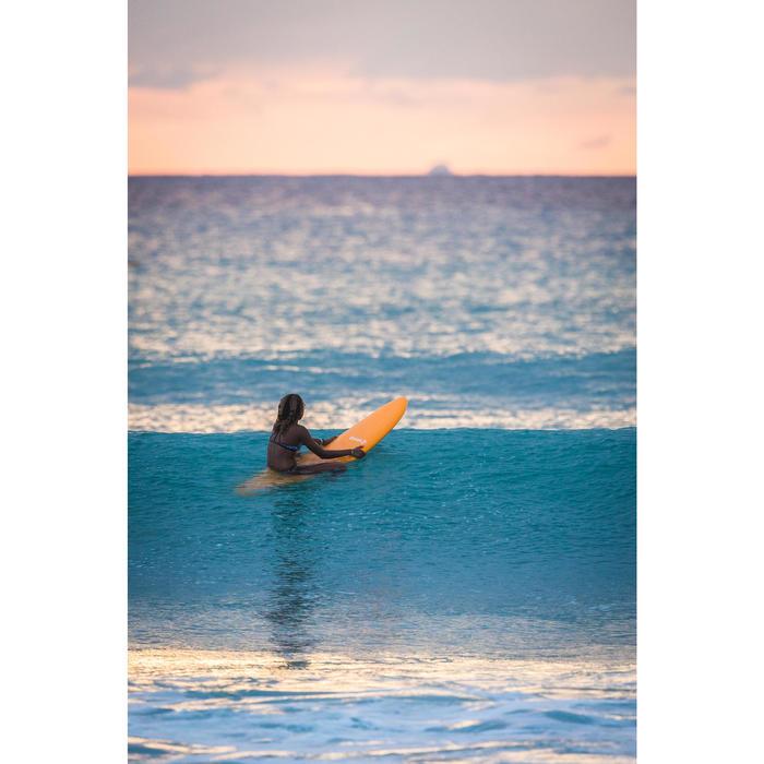 CUECA DE BIKINI SURF MENINA AZUL MAEVA 500