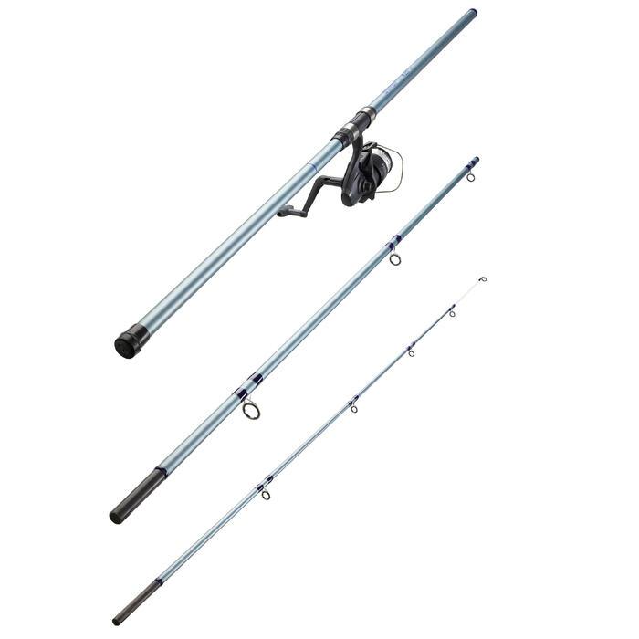 Ensemble de pêche en surfcasting canne et moulinet SYMBIOS-100 420