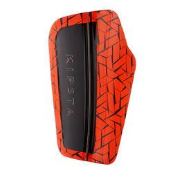 Adult Football Shin Pads 540 TRX - Red
