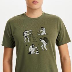 M T-Shirt NH500 CN Khaki