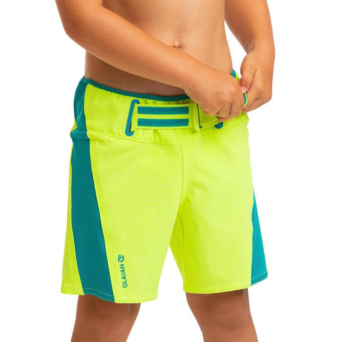 Boys' Swim Shorts Boardshorts 550 Kid - Yellow