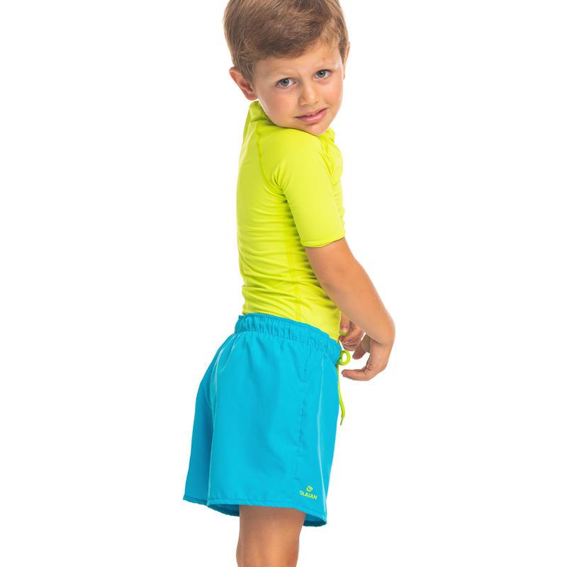 Maillot de bain Boardshort garcon50 Turquoise Kid