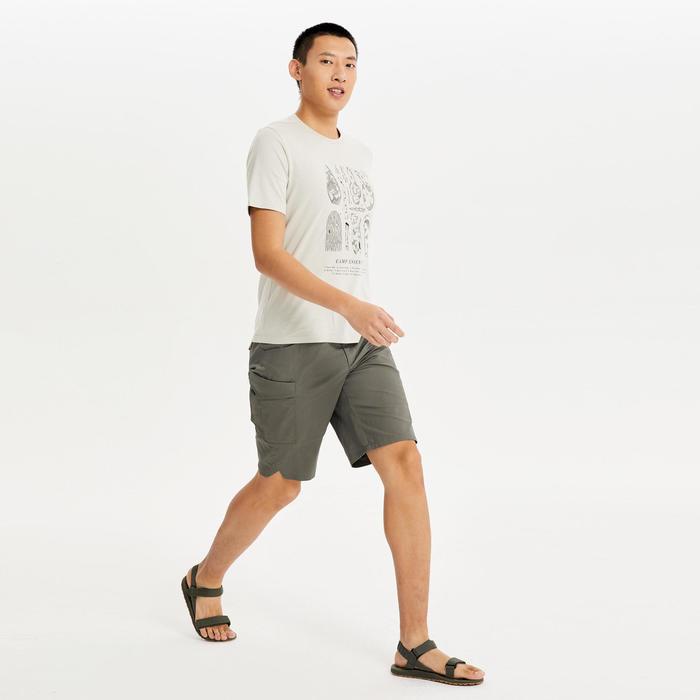 男款T恤NH500-米色