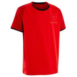 T-shirt Futebol FF100 Criança Bélgica