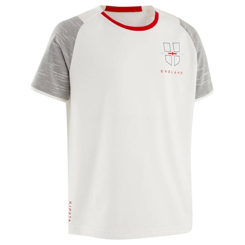 ANGLICKÝ NÁRODNÍ TÝM Fotbal - DĚTSKÉ TRIČKO FF100 ANGLIE KIPSTA - Fotbalové oblečení