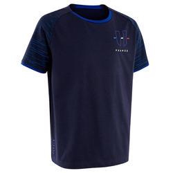 T-shirt de Futebol FF100 França Criança Principal