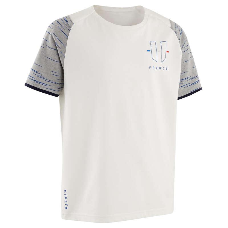 França Mundial 2014 - T-shirt Futebol França Criança KIPSTA