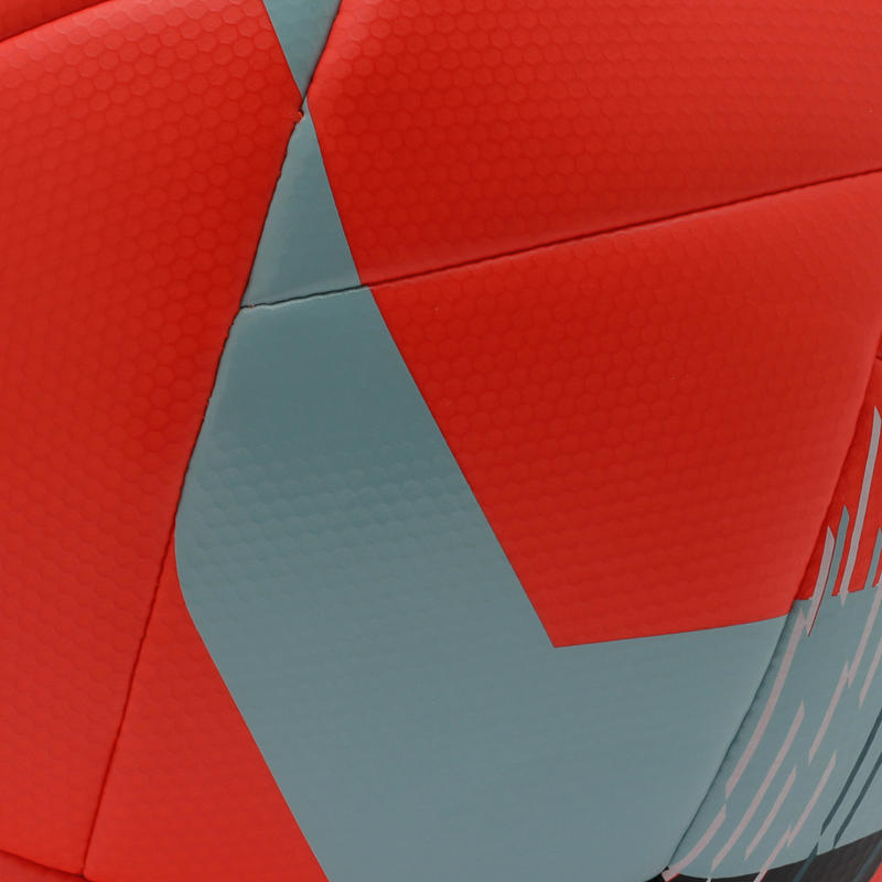 ลูกฟุตบอลไฮบริดขนาด 4 รุ่น F550 (สีแดง)