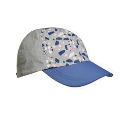 兒童 健行帽MH100-藍色