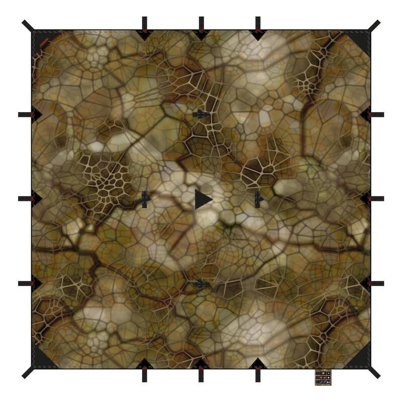 DOPLŇKY NA BIVAKOVÁNÍ Myslivost a lovectví - CELTA 2,97 × 2,85 M FURTIV SOLOGNAC - Myslivecké doplňky