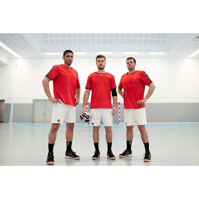 Short de handball H100 homme blanc