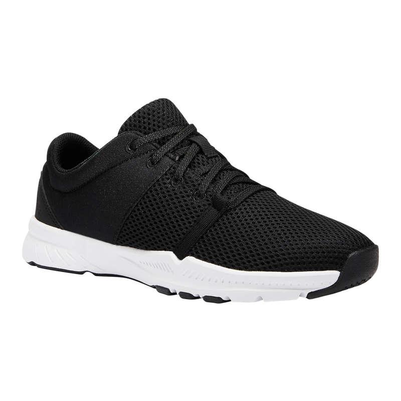 SKOR FITNESS CARDIO Typ av sko - Fitnessko 100 Dam svart DOMYOS - Sneakers