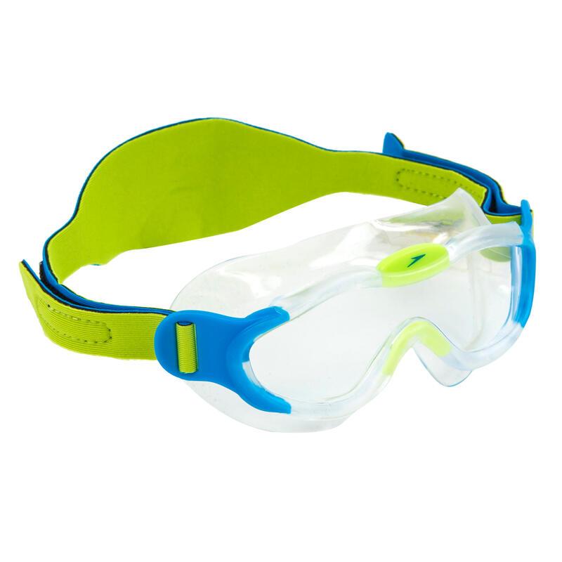 Masque de natation enfant Speedo Sea Squad bleu / vert