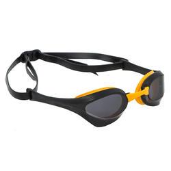 Óculos de natação Arena Cobra Ultra: lentes fumadas preto amarelo