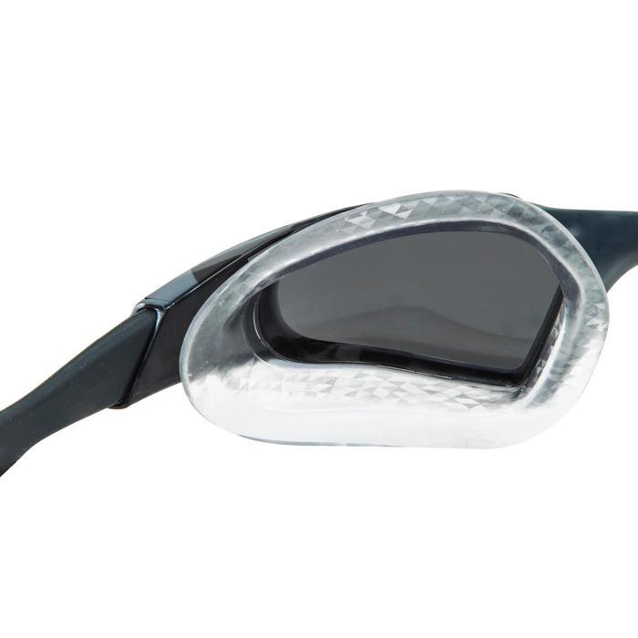 Zwembril Aquapulse pro zwart/rood spiegelglazen