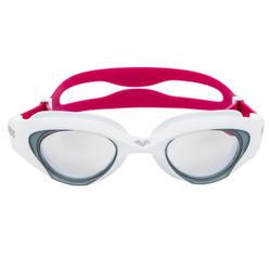 Zwembril The One wit/roze getinte glazen
