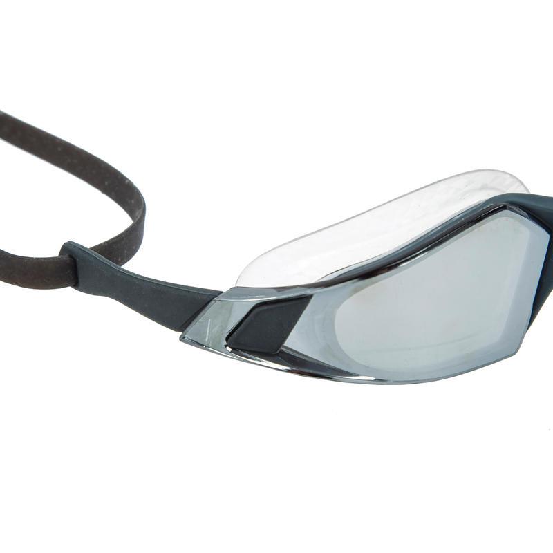 Swimming Goggles Speedo Aquapulse Pro - Mirror Black Red
