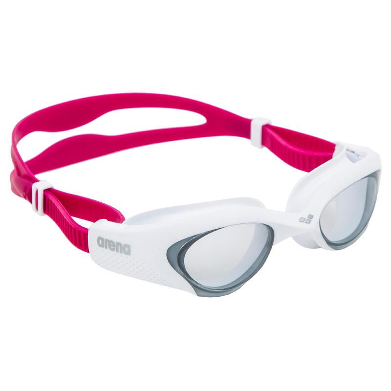 Zwembril voor dames The One wit/roze getinte glazen