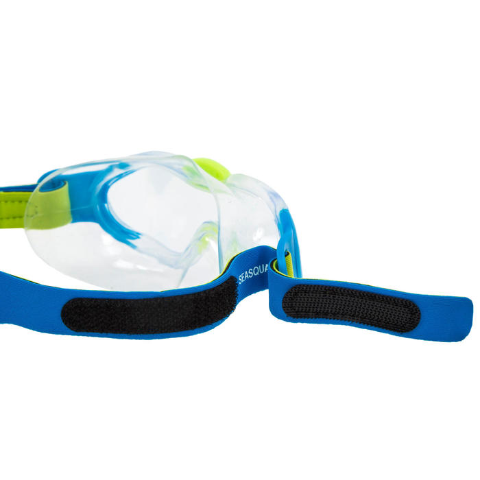 Máscara de natação criança Speedo Sea Squad azul / verde