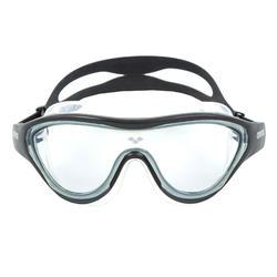 Zwembril The One zwart getinte glazen