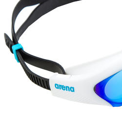 Lunette de natation Arena The One miroir bleu blanc