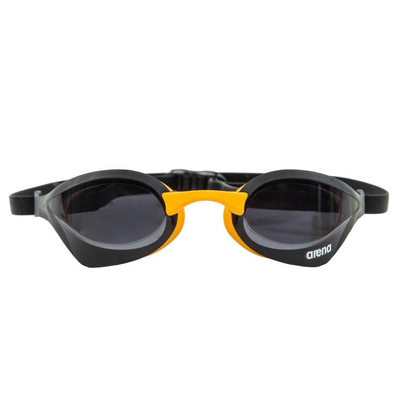 Lunette de natation Arena Cobra Ultra: fumé noir jaune