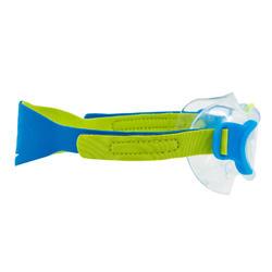 Schwimmmaske Baby / Kleinkinder blau/grün