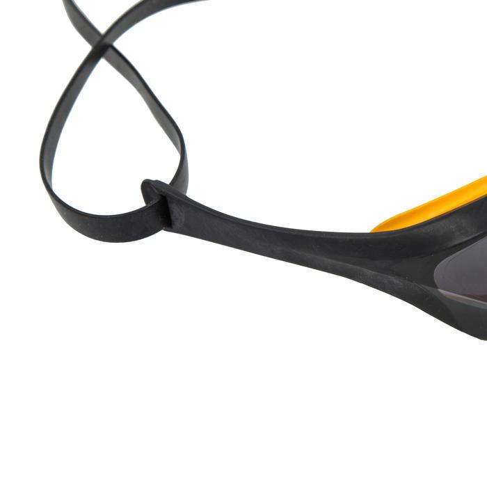 Zwembril Cobra Ultra zwart/geel getinte glazen