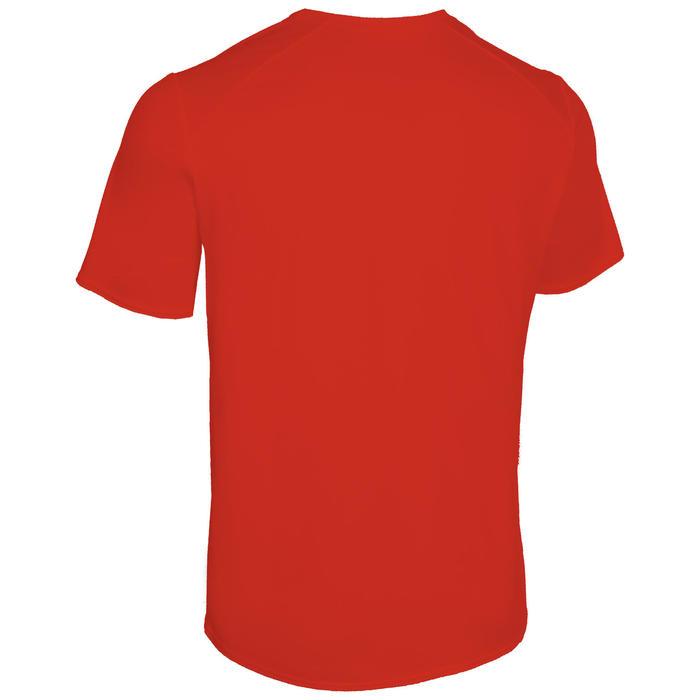 Atletiek T-shirt heren club personaliseerbaar rood