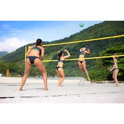 Set de beach-volley - Dimensions officielles - BV900 Jaune