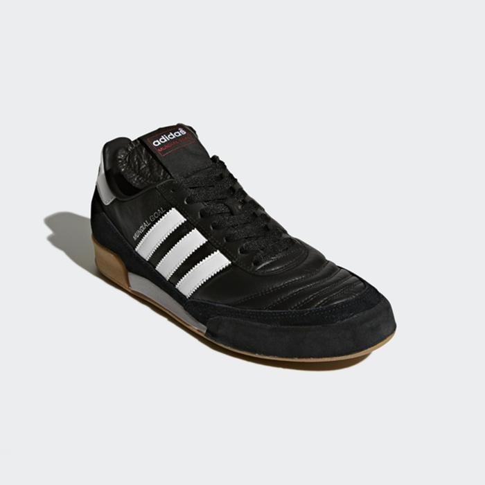 Zaalvoetbalschoenen voor volwassenen Mundial Goal zwart