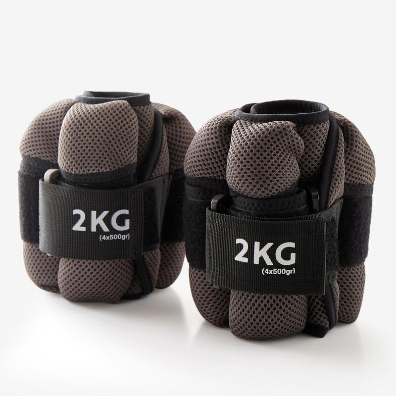 Ayarlanabilir Bilek Ağırlığı - 2 x 2 kg (4x500g)