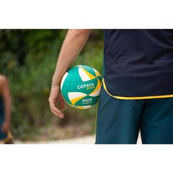 FIVB沙灘排球BVB900-綠色/黃色