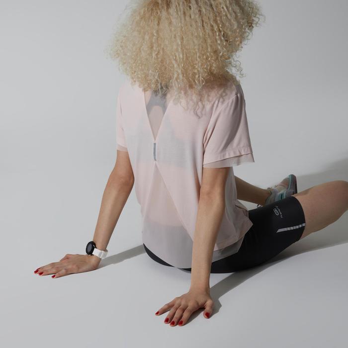 Joggingshirt voor dames lichtroze